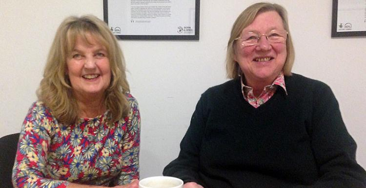Sue and Geraldine volunteer for Healthwatch Islington