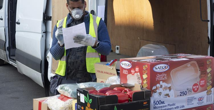 Food delivery during the pandemic