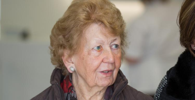 An elderly patient