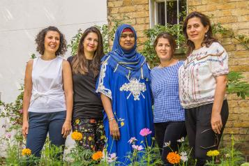 Maternity mentors from the Bright Beginnings project