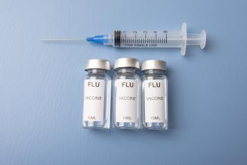 Syringe and flu vaccinations