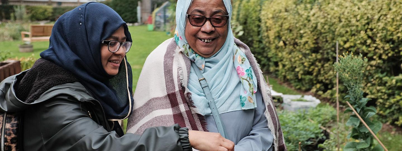 Women at the Barnsbury Community Garden