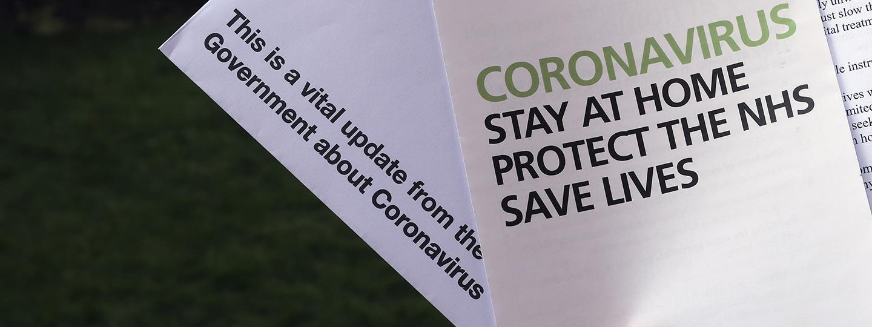 Coronavirus leaflets